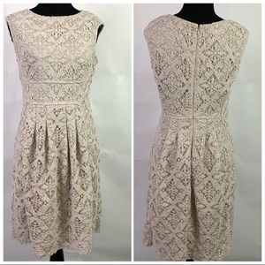 London Times Classic Lace Dress Fully Lined St 10
